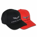 C6 Corvette Hat Sports Mesh Performance Elite - Red or Black