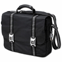 C6 Corvette Messenger Laptop/Briefcase Storage Bag - Black