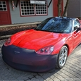 C6 Corvette NoviStretch Bra - Front Bumper Mask