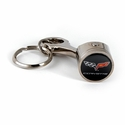 C6 Corvette Piston Keychain