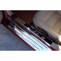 C6 Corvette Polished Stainless Inner Doorsills (05-13 C6 / C6 Z06)