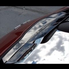 C6 Corvette Stainless Nose Cap