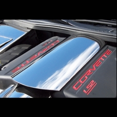 C6 Corvette Stainless Plenum Cover