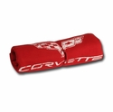 C6 Corvette Sweatshirt Fleece Blanket (Red)