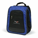 C6 Corvette Techno Computer Slingback with C6 Emblem - Blue/Black (05-12 C6)