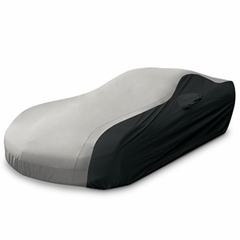 C6 Corvette Ultraguard Car Cover - Indoor/Outdoor Protection : Grey/Black