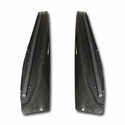 C6 Corvette ZR1 Carbon Fiber Fender Extensions Kit : 2009-2013 ZR1