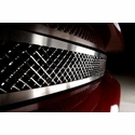 C6 Stainless Steel Diamond Laser Mesh Front Grille (05-13 C6)