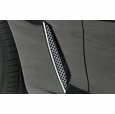 C6 Stainless Steel Diamond Laser Mesh Side Fender Grille (05-13 C6)