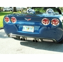 C6 Stainless Steel Flame Taillight Covers (05-13 C6 / C6 Z06)
