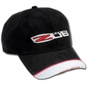 C6Z06 Corvette Hat - Tri-Tone Black/Red