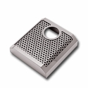 C7 Corvette - Brake Master Cylinder Cover - Polished Perforated - Auto : Stingray, Z51, Z06