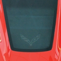 C7 Corvette Cargo Security Shade/Black w/ Stingray Logo