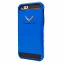 C7 Corvette Crossed Flags Logo - Shockproof iPhone 6 Case