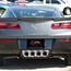 C7 Corvette Exhaust Port Filler Panel - NPP+Dual-Mode
