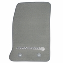 C7 Corvette Floor Mats - Gray w/Stingray Logo