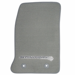 C7 Corvette Floor Mats - Gray w/Stingray Logo : 2014+ C7 Stingray