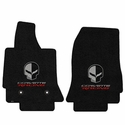 C7 Corvette Floor Mats - Lloyds Mats - Corvette Racing Script and Jake Logo
