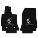 C7 Corvette Floor Mats - Lloyds Mats - Corvette Script and Jake Logo
