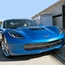 C7 Corvette Front Grille Stainless Steel Overlay