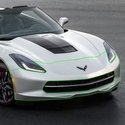 C7 Corvette GM OEM Front Bumper Cover : Stingray, Z51
