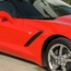 C7 Corvette GM Stingray Fender Emblem - click to enlarge