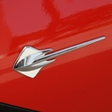 C7 Corvette GM Stingray Fender Emblem