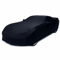 C7 Corvette - Indoor Super Stretch Car Cover - Black : Stingray, Z51, Z06