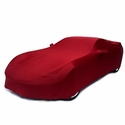 C7 Corvette - Indoor Super Stretch Car Cover - Crystal Red : Stingray, Z51, Z06