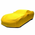 C7 Corvette - Indoor Super Stretch Car Cover - Velocity Yellow : Stingray, Z51, Z06
