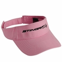 C7 Corvette Ladies Embroidered Stingray Visors: 2014+