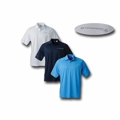 C7 Corvette Men's Cutter & Buck Drytec Mogul Stingray Polo
