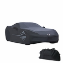 C7 Corvette Outdoor Car Cover w/ Flag Logo