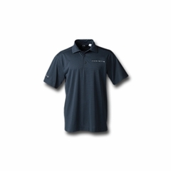 C7 Corvette Polo - Men's Drytec Medina ONYX