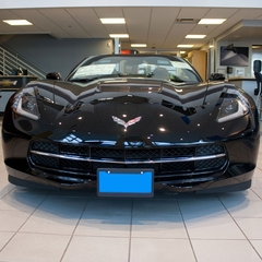 C7 Corvette Removable - STO N SHO� License Plate Holder
