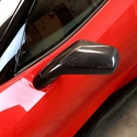C7 Corvette Replacement Side Mirrors - APR Performance - Carbon Fiber