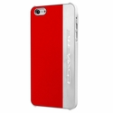 C7 Corvette Script - Hardcase iPhone 5/5S Case : Silver Brushed