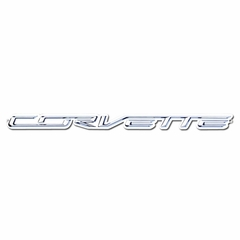 C7 Corvette Script Metal Sign