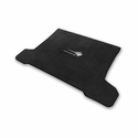C7 Corvette Stingray Cargo Mat - Lloyds Mats with Stingray Emblem & Corvette Script : Black - Lloyds Mats V0705127
