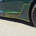 C7 Corvette Stingray - Cleartastic Rocker Panel & Lower Door Film Kit - Paint Protection