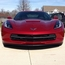 C7 Corvette Stingray Custom Painted Front Splitter  - click to enlarge