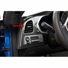 C7 Corvette Stingray Dash A/C Vent Trim 2Pc Polished
