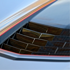 C7 Corvette Stingray Extractor Hood - Carbon Fiber : Concept7