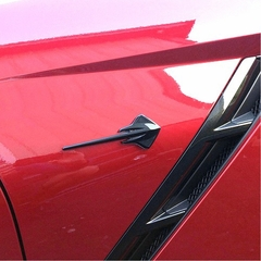 C7 Corvette Stingray Fender Emblem (pair) - Custom Painted