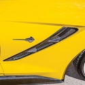 C7 Corvette Stingray Fender Vents - Carbon Fiber