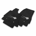 C7 Corvette Stingray Floor Mats - Lloyds Mats with C7 Stingray Emblem & Stingray Script : Black - Lloyds Mats V0566127