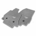 C7 Corvette Stingray Floor Mats - Lloyds Mats with Stingray Emblem: Greystone - Lloyds Mats V0552170