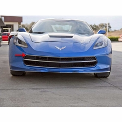 C7 Corvette Stingray Front Grille Factory Trim Ring Polished