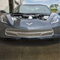 C7 Corvette Stingray Front Grille - Matrix Series Polished