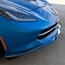 C7 Corvette Stingray Front Lip Spoiler / Splitter Polished - click to enlarge